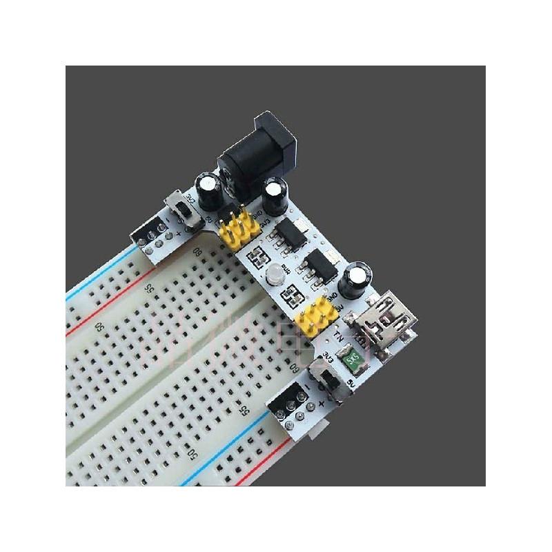DWM-XD-42 Breadboard dedicated power module