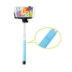 Extendable Handheld  Bluetooth selfie Stick Pole