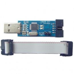 USBASP USBISP Downloader Programmer for 51 AVR