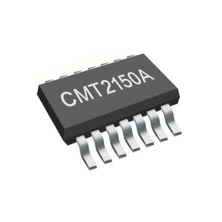 CMT2150AW HopeRF CMT single-chip 240MHz to 480MHz OOK RF transmitter with1920, 1527 and 2262 data encoder