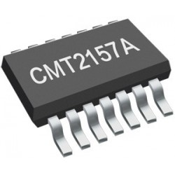 CMT2157AW HopeRF CMT single-chip OOK/(G)FSK RF transmitter with1920, 1527 and 2262 data encoder