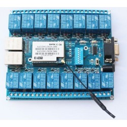 DWM-HLK-SW16 16 Channel Android/Smart Phone CWiFi Relay /WiFi Relay Module with P2P Function
