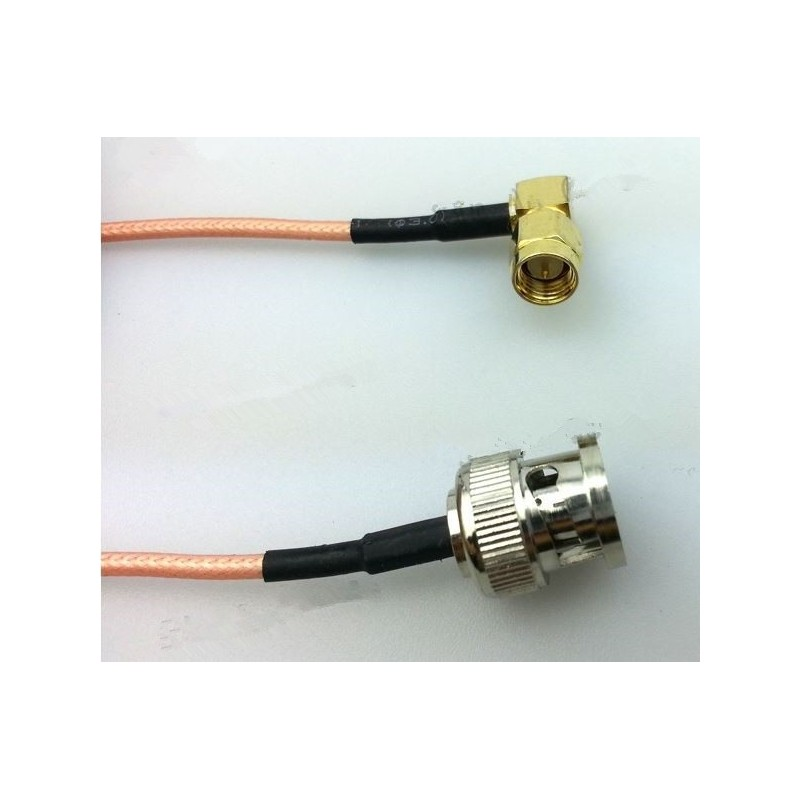 DWM-BNC BNC female to SMA Male 50ohm RG316 extension jumper cable