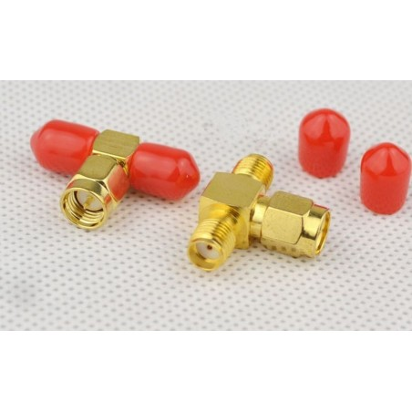DWM-SMA SMA male to SMA two female connector