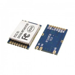 DWM-RF2401F20 FCC Passed 2.4GHz +20dBm Wireless Transceiver Module