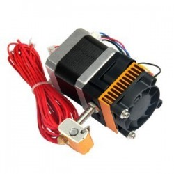 New MK8 3D printer extruder