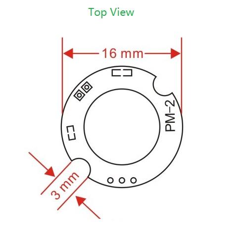 dwmzone-PM-2-PIR-module-sensor-top-view